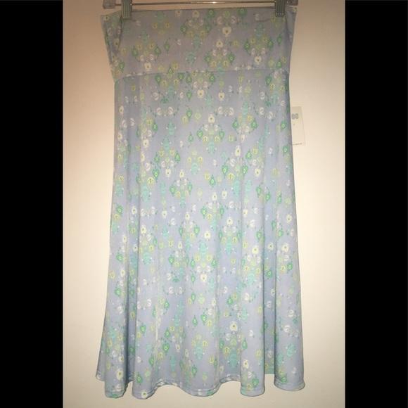LuLaRoe Dresses & Skirts - NWT💕LULAROE  SKIRT 🦋AZURE